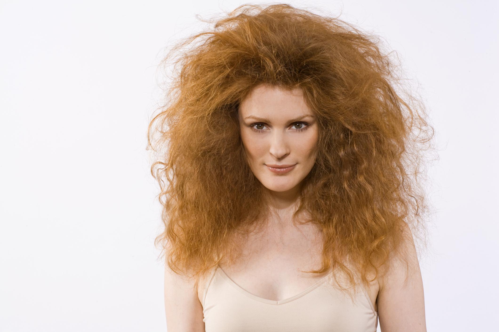 Corte para pelo rizado y encrespado