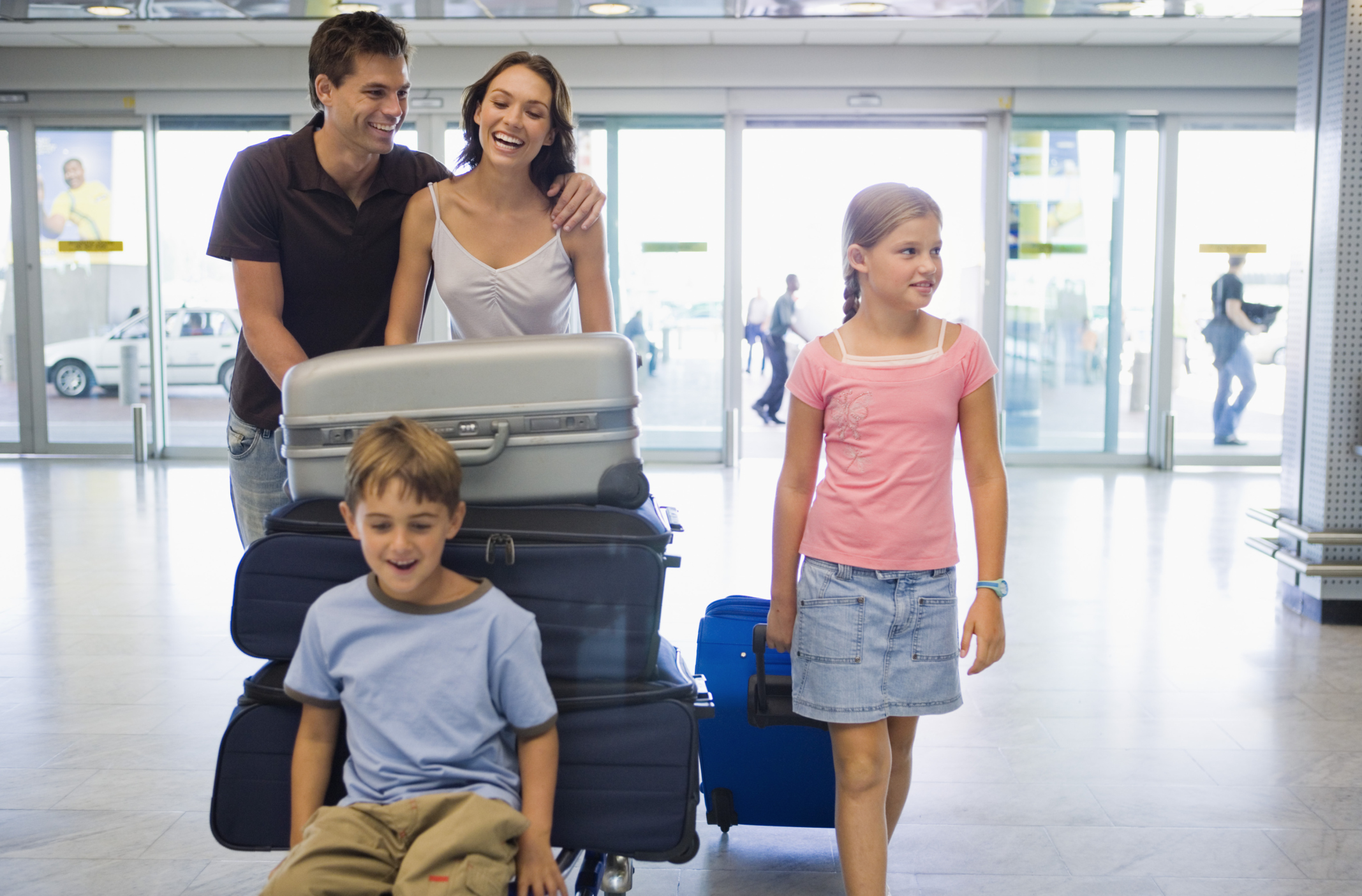 What Do Kids Use As Id For Check In At The Airport