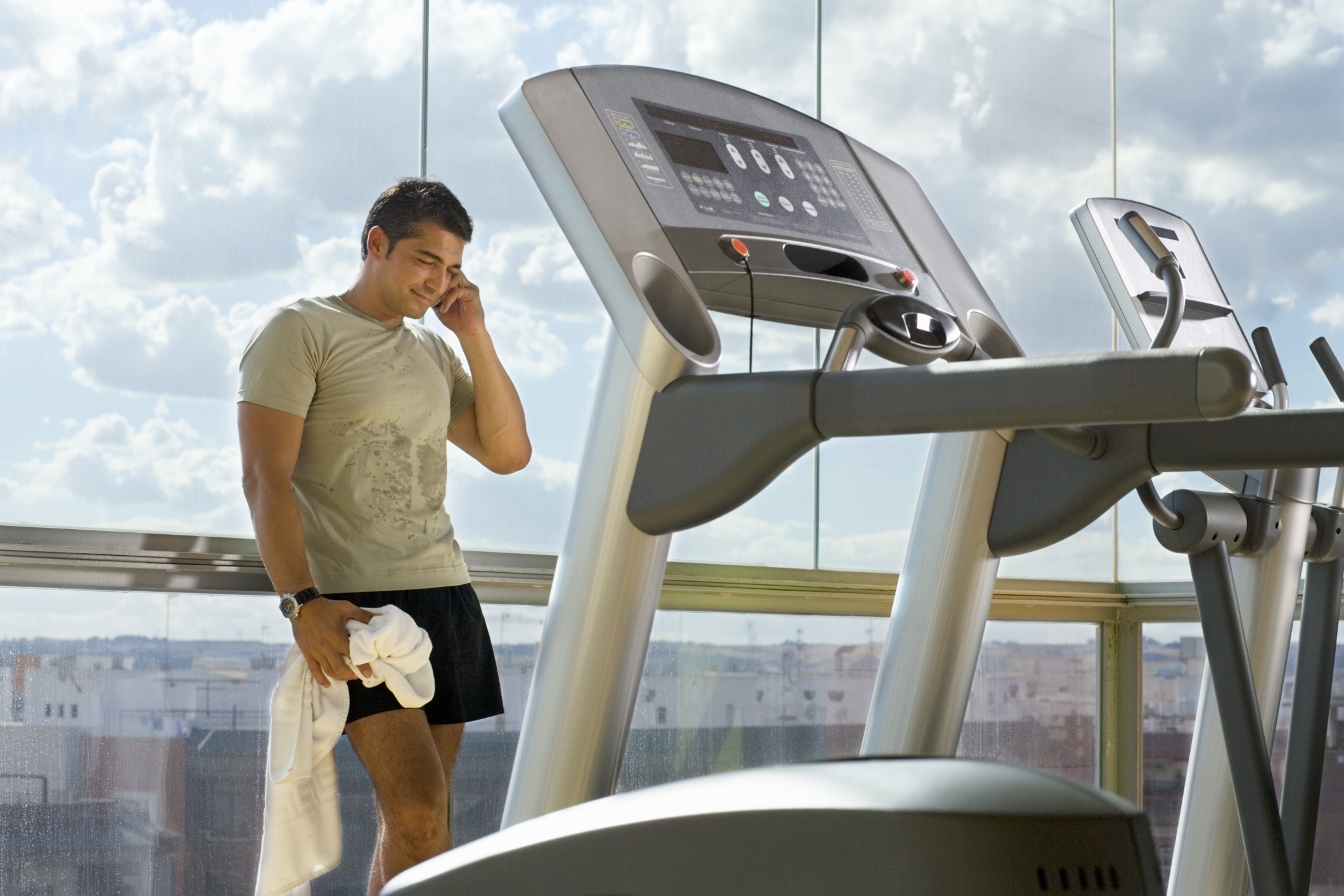 Can a Treadmill Be Used Upstairs? | Chron com