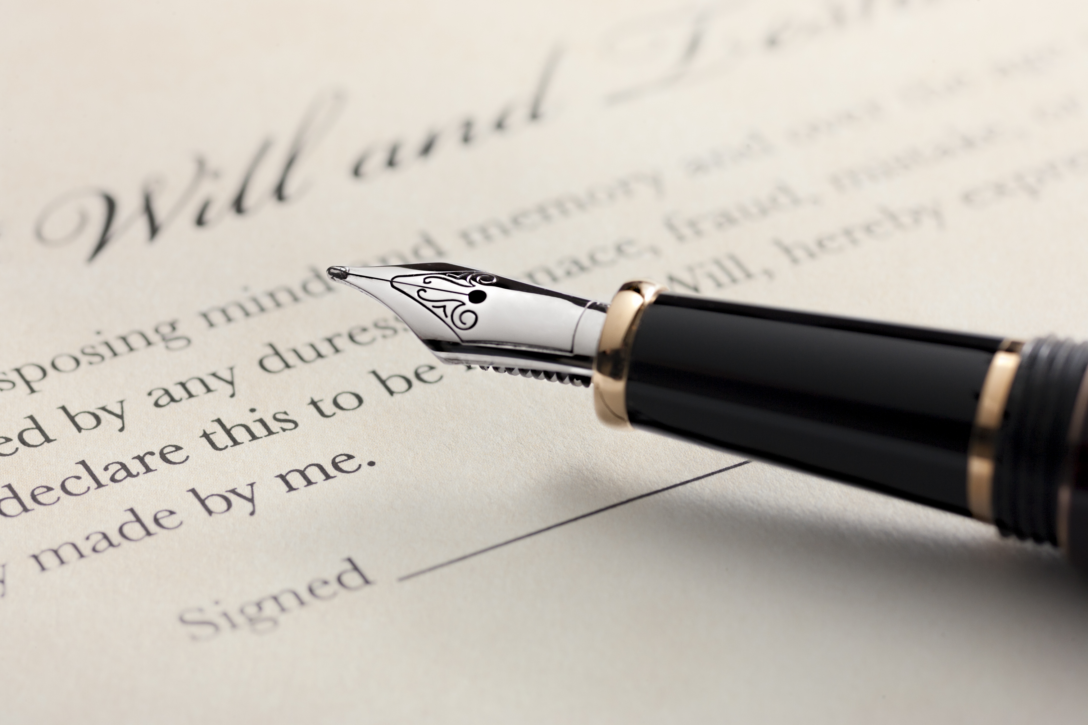 How To Update A Personal Will In California