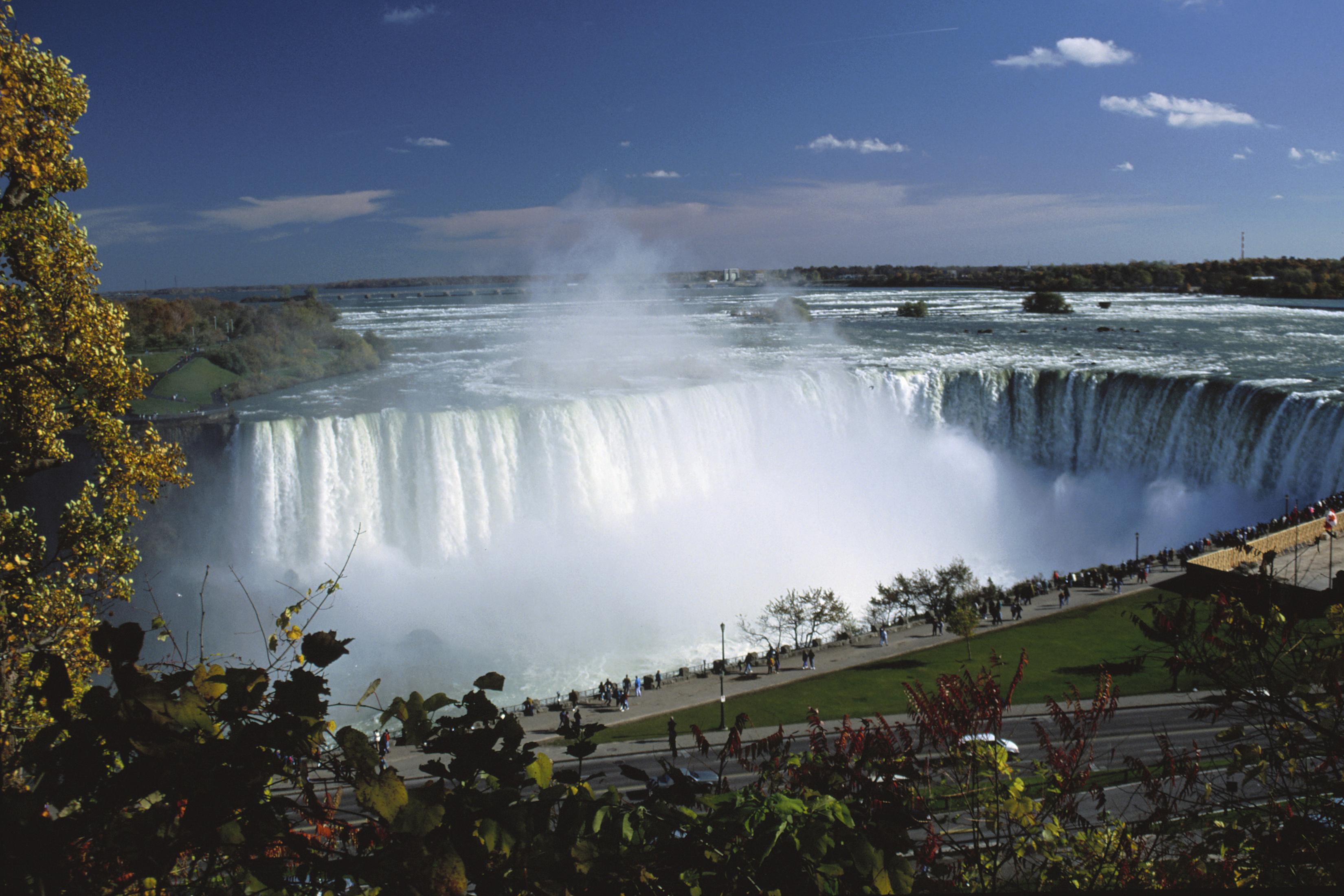 Waterfalls In Canada Near The Michigan Border