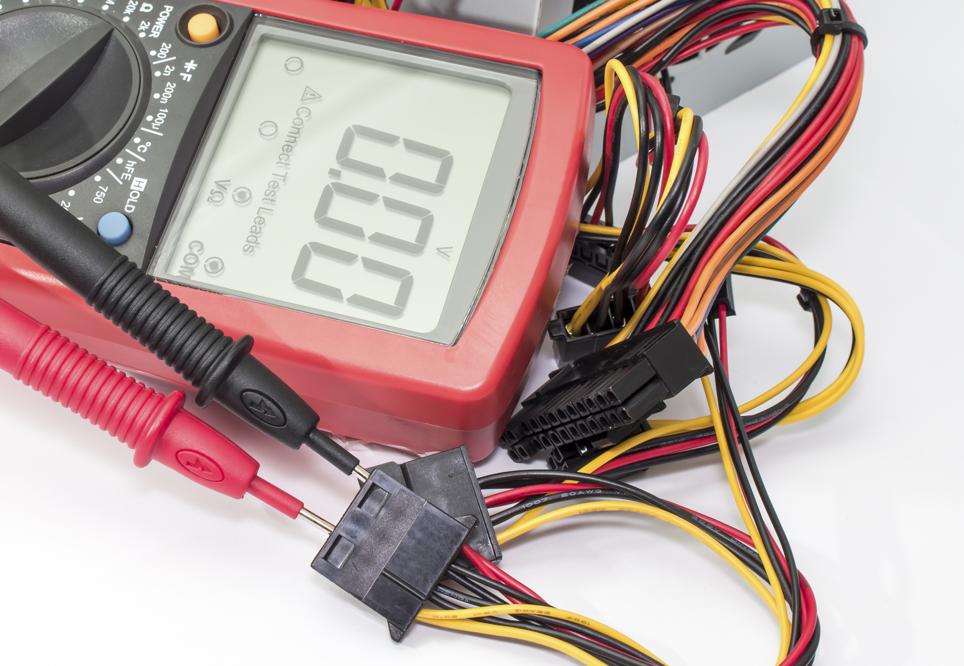 How To Read Ohms On A Ranged Multimeter Sciencing