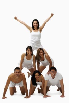 How to Do a Gymnastics Pyramid