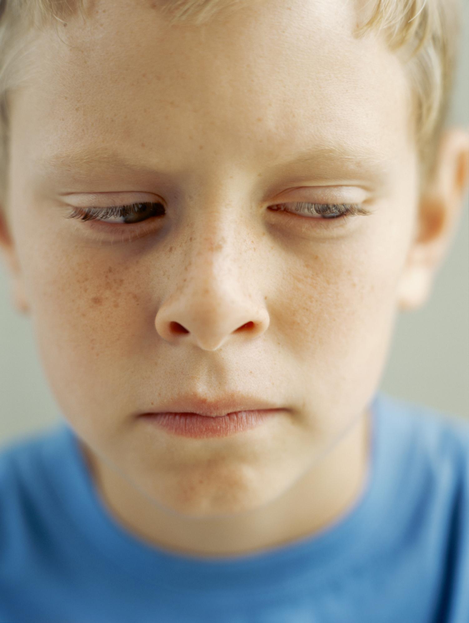 Shirt Biting Behavioral Problems in Autistic Children