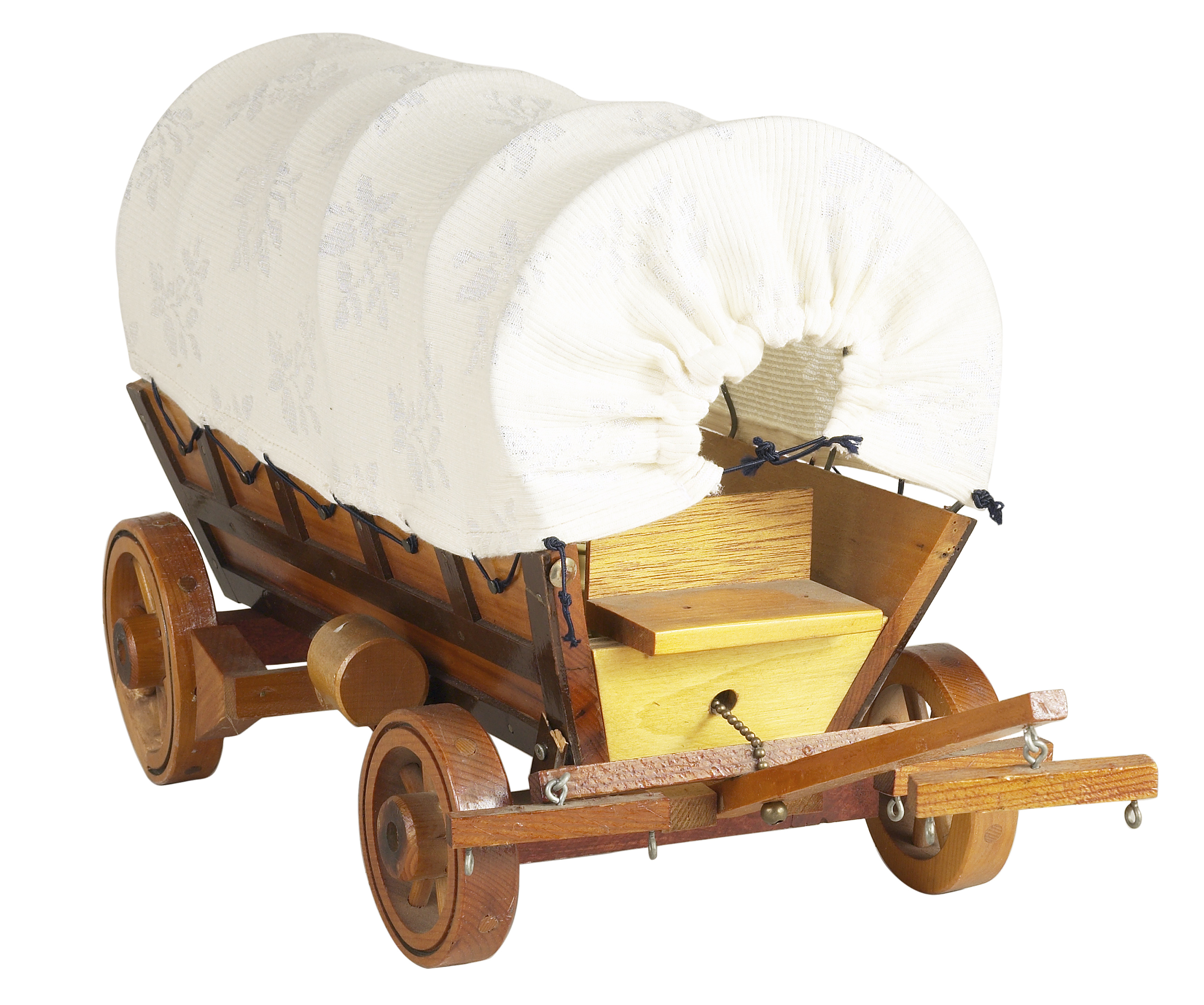 How To Build A Covered Wagon Model For Kids