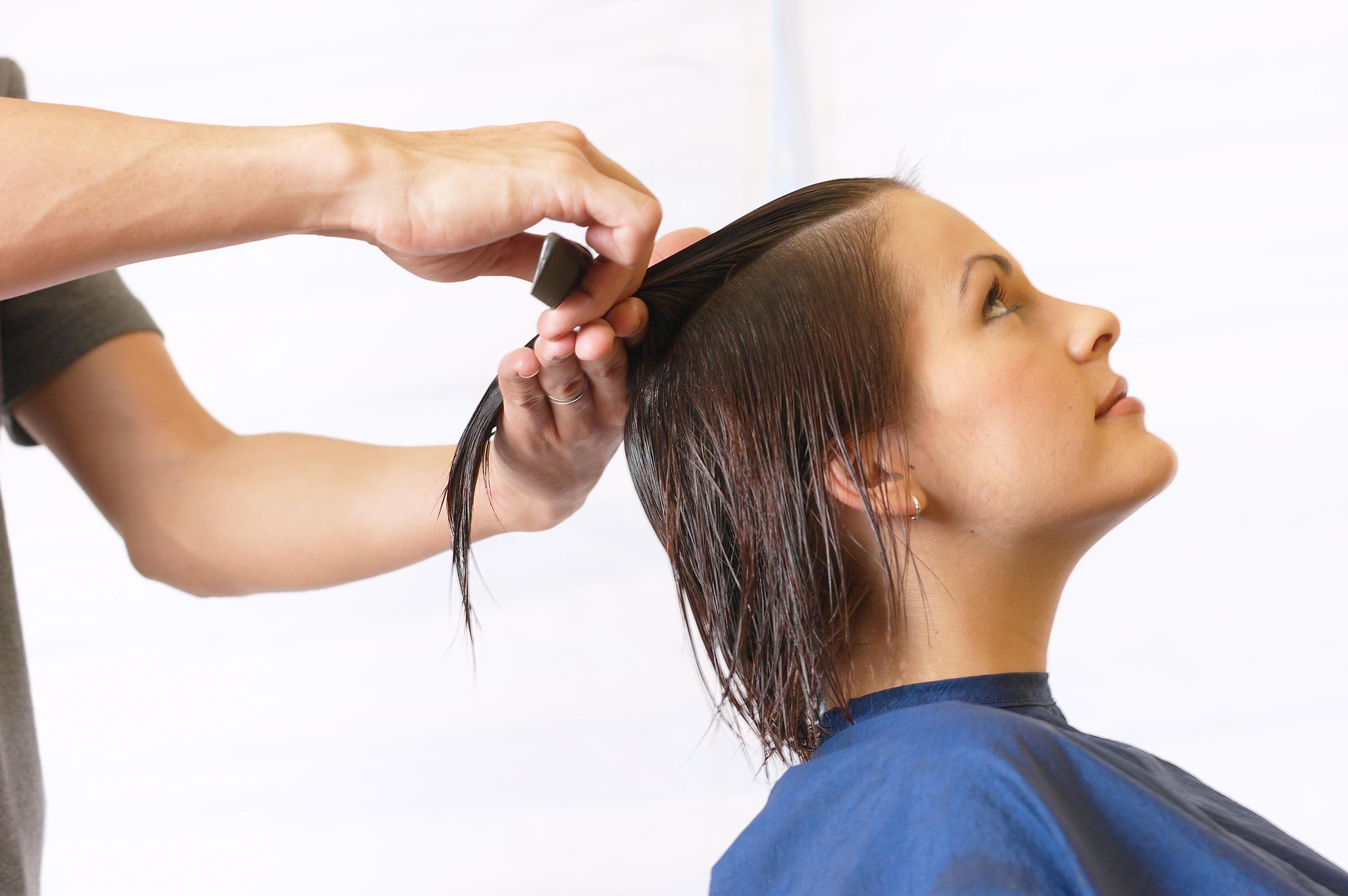 Corte de cabello entresacado