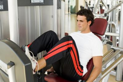 the proper placement of the feet on a leg press  chron
