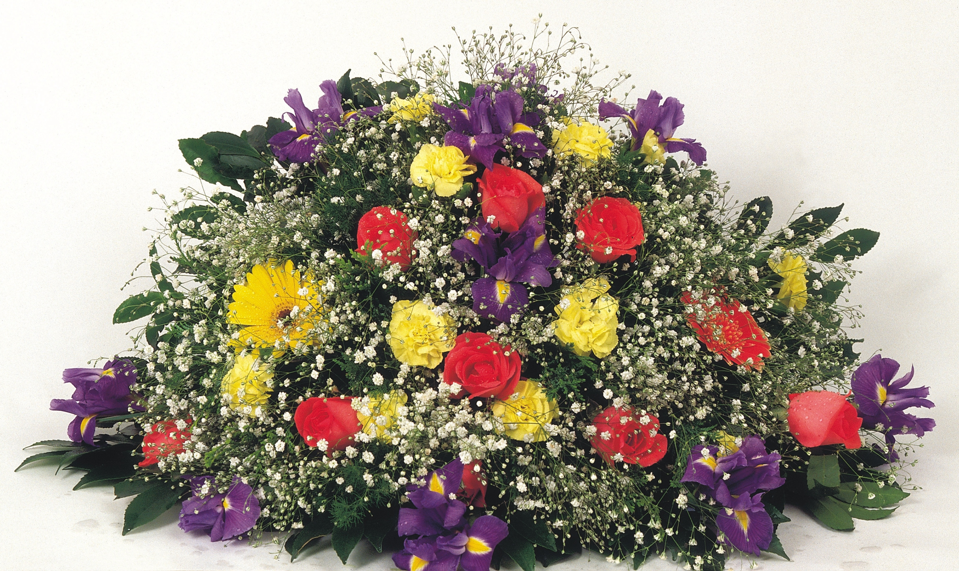 How To Make A Large Floral Arrangement For A Casket Synonym