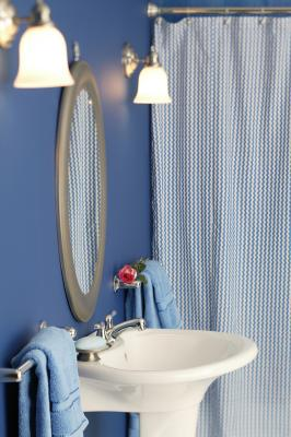 How To Install Spring Loaded Shower Curtain Rods
