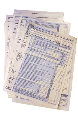 How to Assemble Paper Tax Returns - Budgeting Money