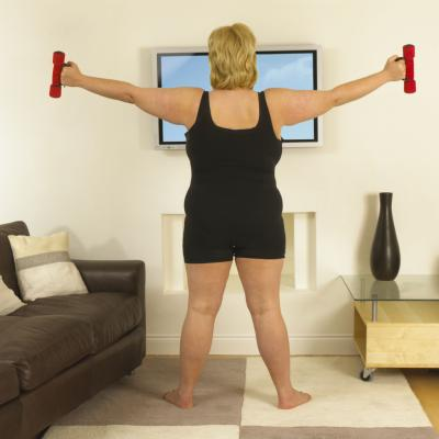 dumbbell exercises for underarm flab  healthy living