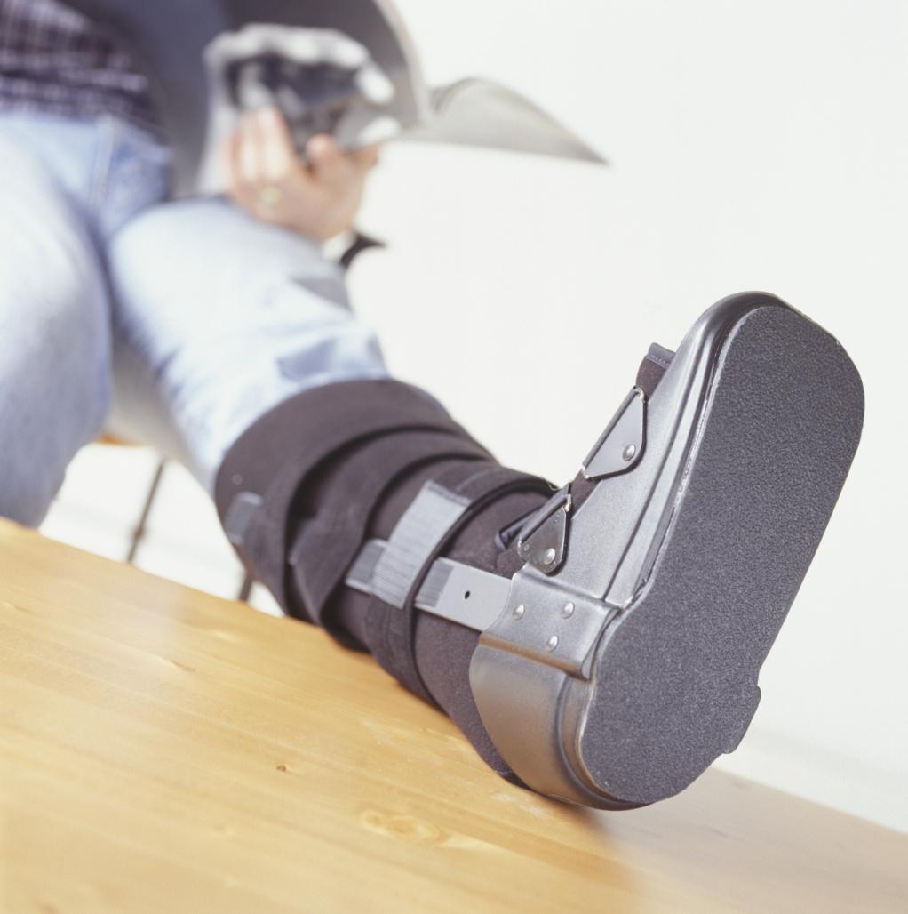 How to Wear a Walking Boot   SportsRec