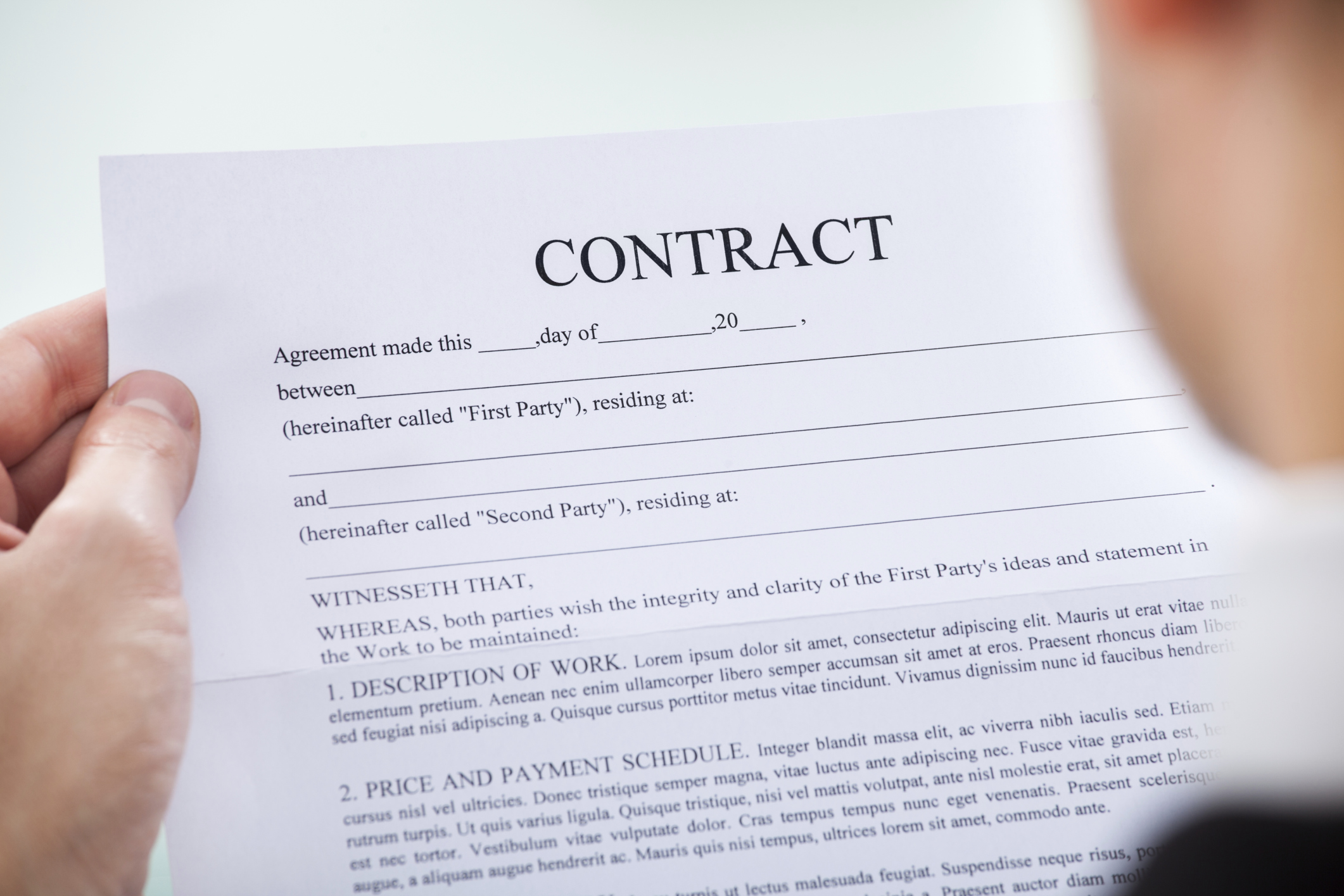 What Does it Mean to Tender a Contract? | Bizfluent