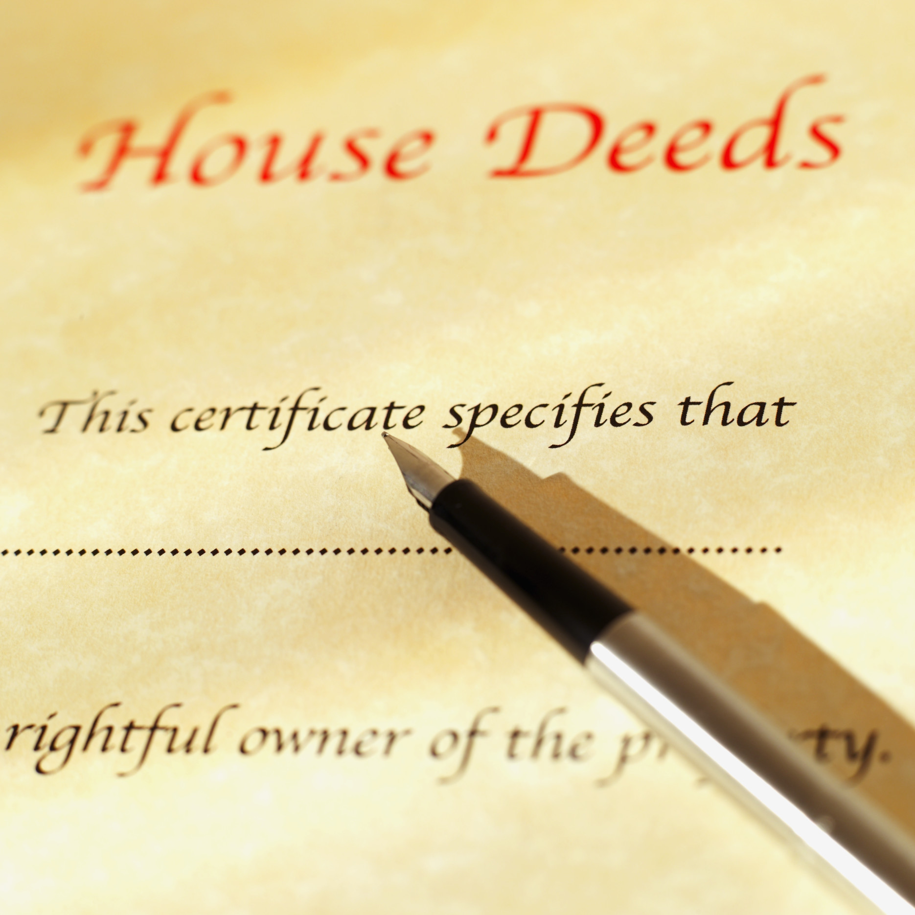 What If the Description in a Deed Is Incorrect? | Home