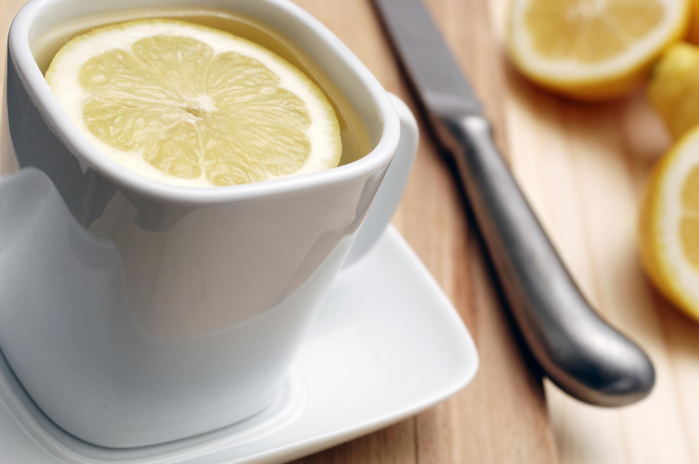Liver Detox With Lemon Water