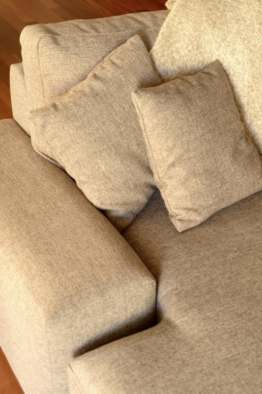 Brilliant How To Cover A Sofa In Burlap Home Guides Sf Gate Caraccident5 Cool Chair Designs And Ideas Caraccident5Info