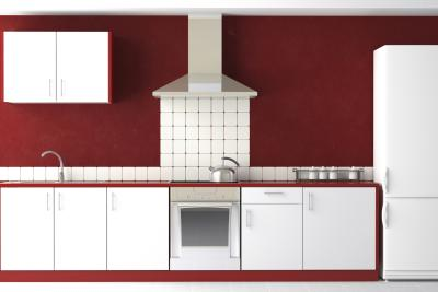 What Color Cabinets Go With Burgundy Painted Walls