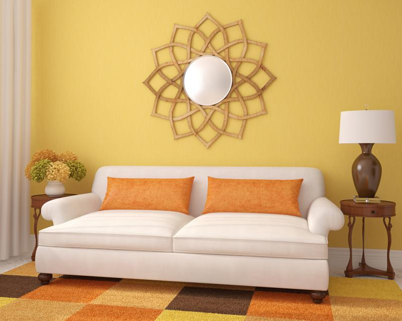What Matches Yellow Walls? | Home Guides | SF Gate