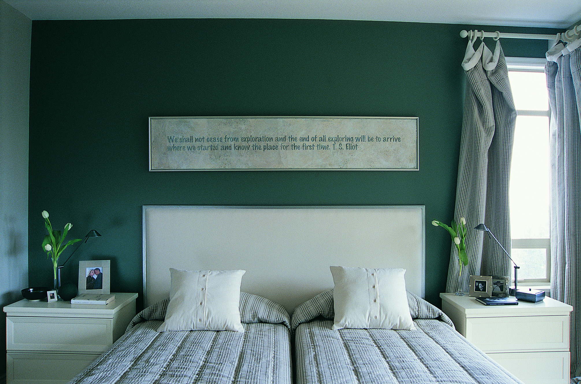 Brown, Silver and Green Bedroom Decorating | Home Guides | SF Gate