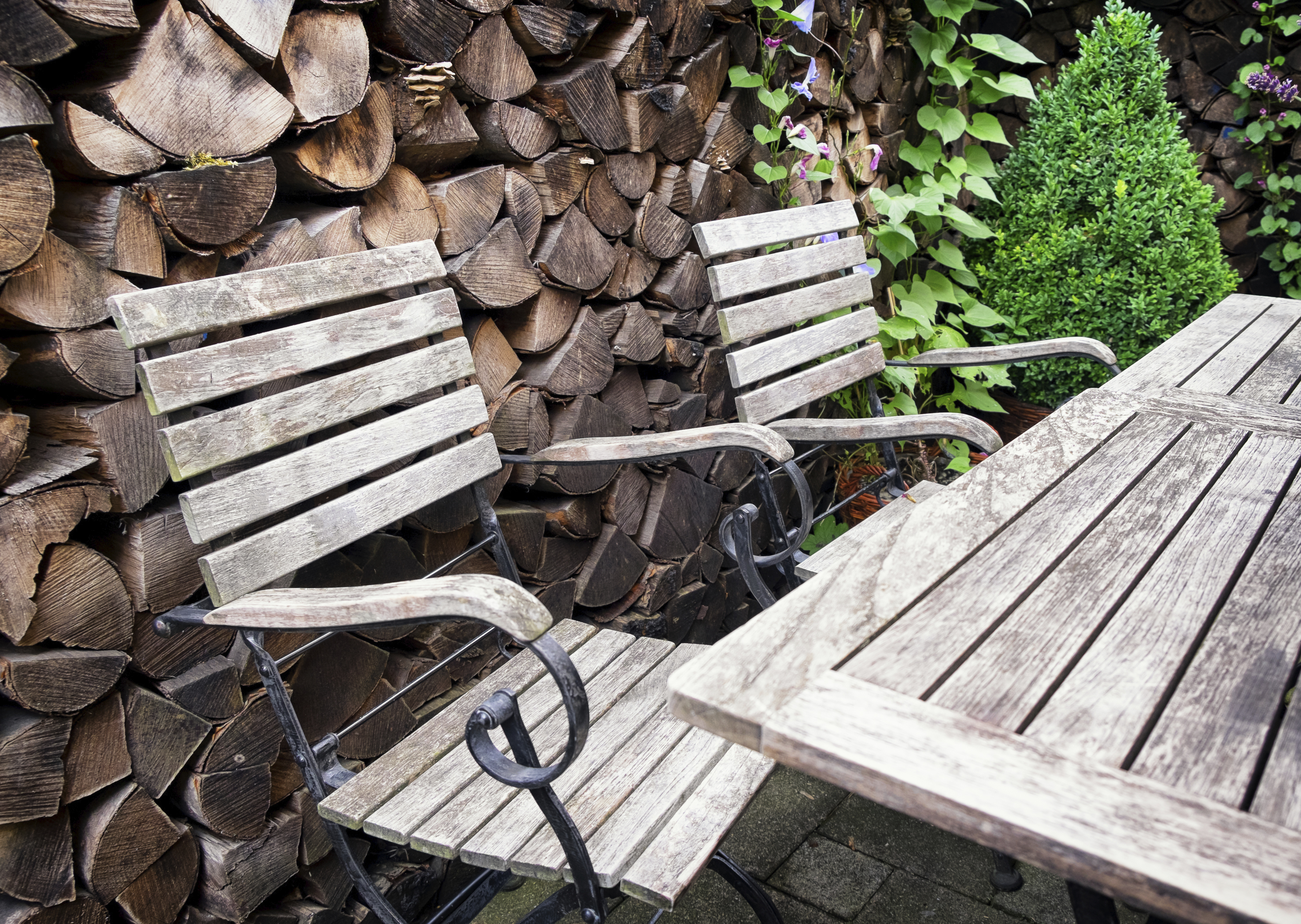 Brilliant How To Clean Outdoor Wood Furniture Home Guides Sf Gate Gmtry Best Dining Table And Chair Ideas Images Gmtryco