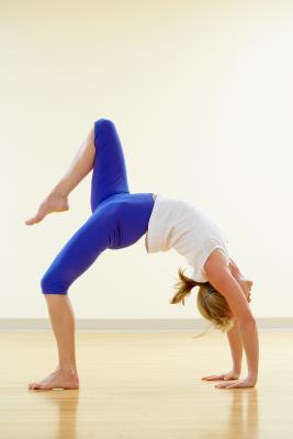 yoga for hip stretching  chron