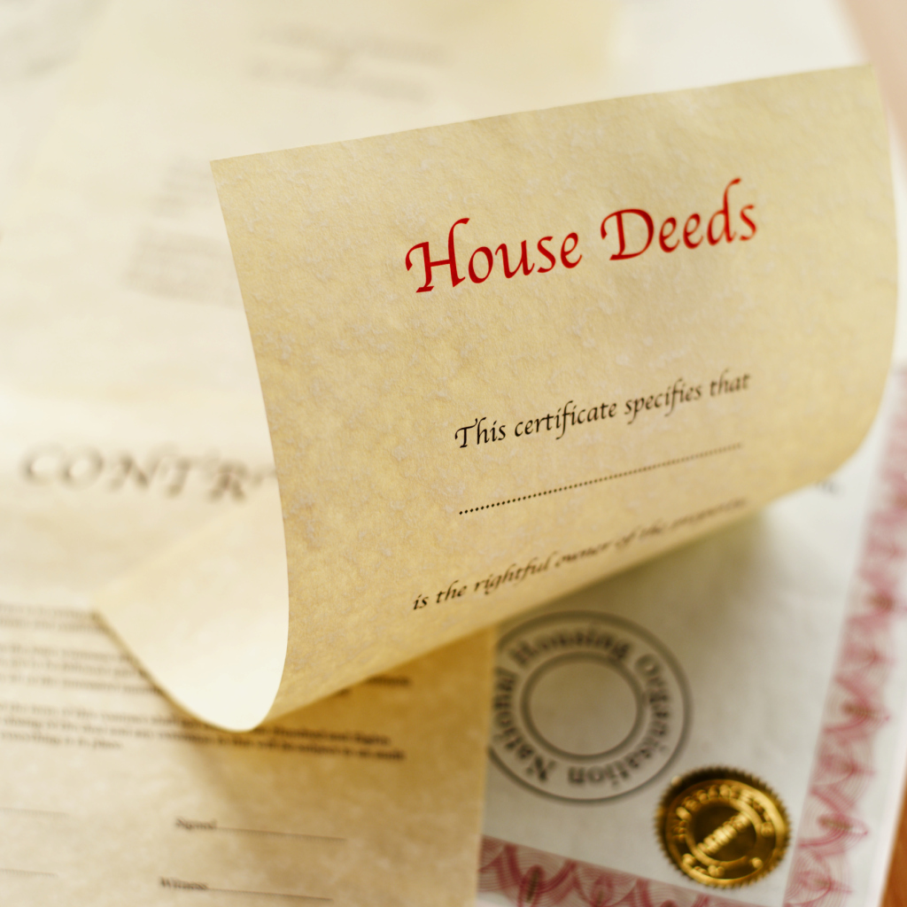 What Does The Deed To A House Mean