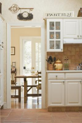 How To Remove The Swinging Door In A Kitchen