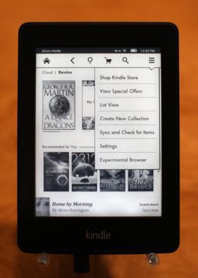 How Do I Get My Kindle App to Use the iPad View? | Chron com