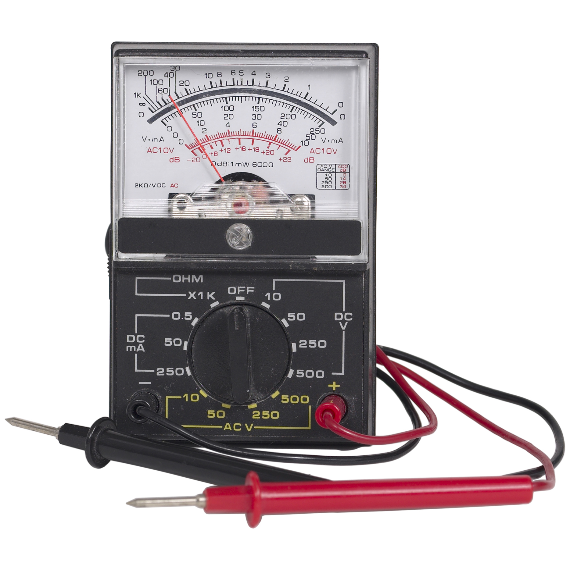 How To Use A Volt Meter Check Portable Generator Output Sciencing Voltmeter Ac Wiring Circuits