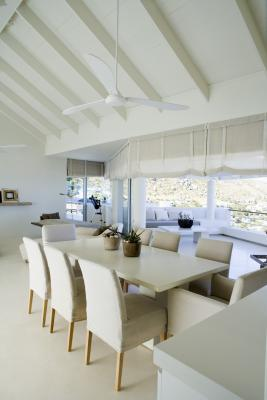 How To Install A Ceiling Fan In A Vaulted Ceiling With No Attic Access