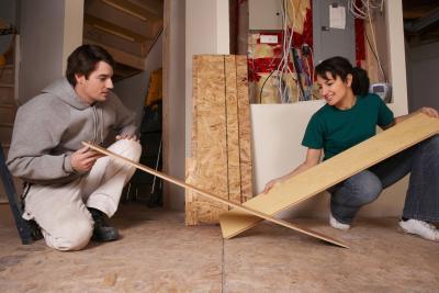 Install Glueless Laminate Hardwood Flooring, How To Install Glueless Laminate Flooring