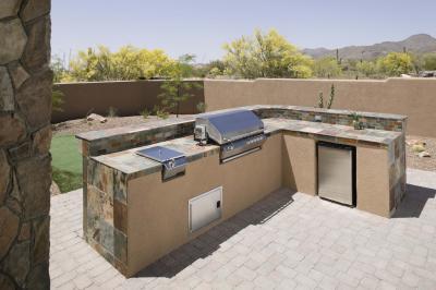 How To Tile An Outdoor Countertop