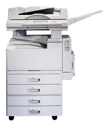 How to Connect a Ricoh Copier to a Computer | It Still Works