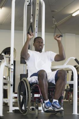 good waist  stomach exercises for the wheelchair bound
