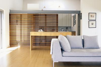 Unique Ways To Partition A Kitchen Living Room