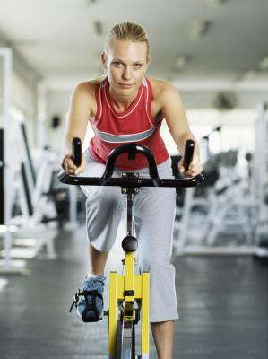 on what muscle group does spinning work  chron