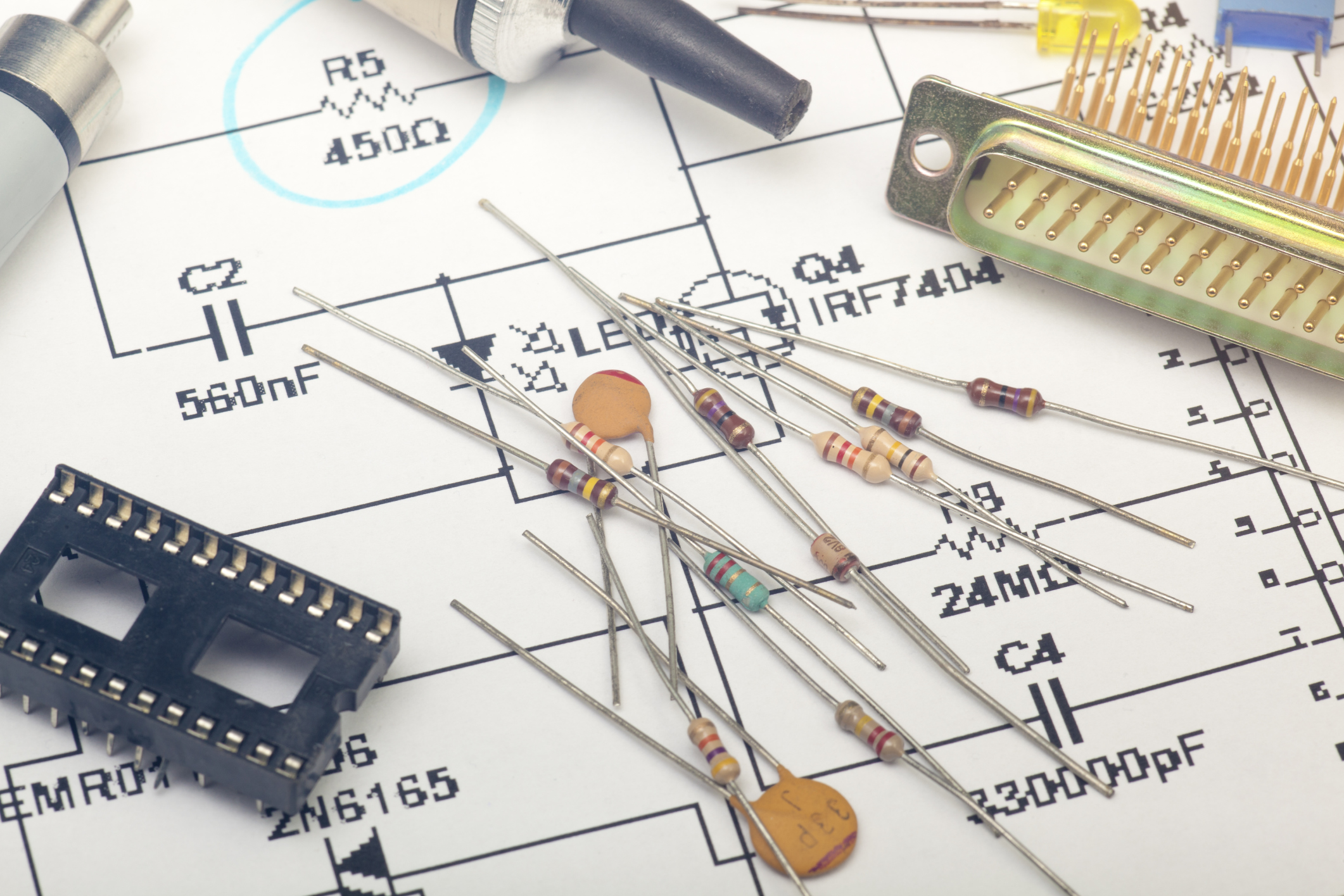 How To Reduce Voltage With Resistors Sciencing Equivalent Having One 4 Resistor In The Circuit