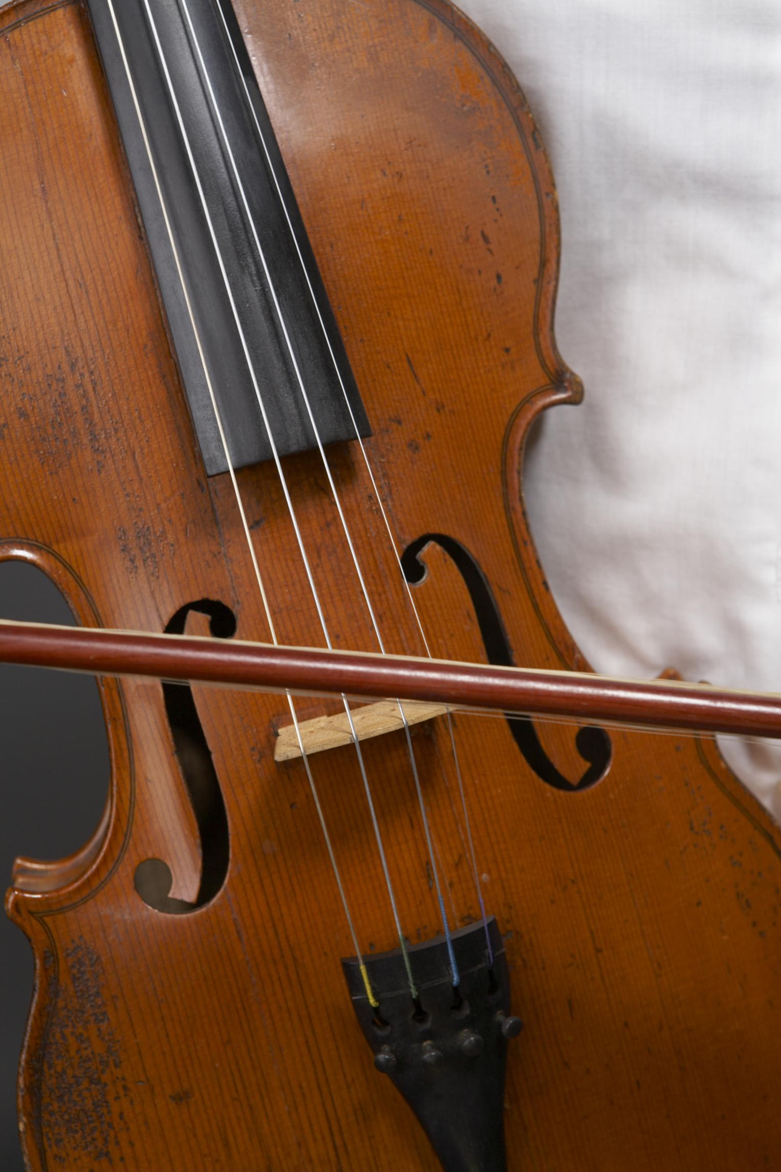 Homemade Violin That's Playable